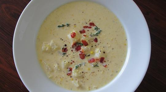 Corn chowder 07
