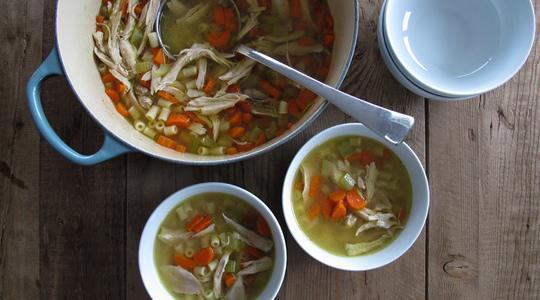 Chicken noodle soup-14