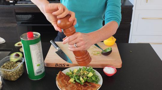 Zucchini quesadilla-12