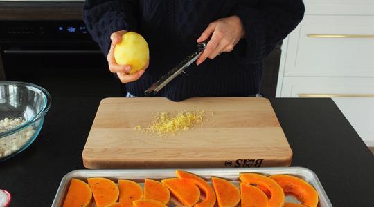 Lemon-parmesan breadcrumb-baked butternut squash-11