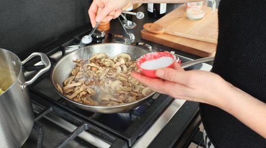 Mushroom pasta-13