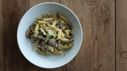 Mushroom pasta-18