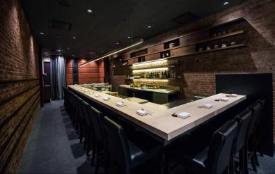 Shuko - main dining room sushi bar