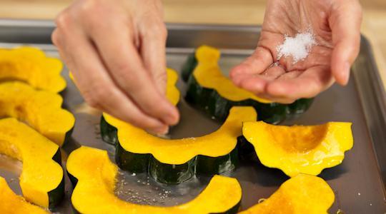 Roasted parmesan acorn squash-12