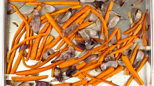 Roasted carrots and onions-15-2