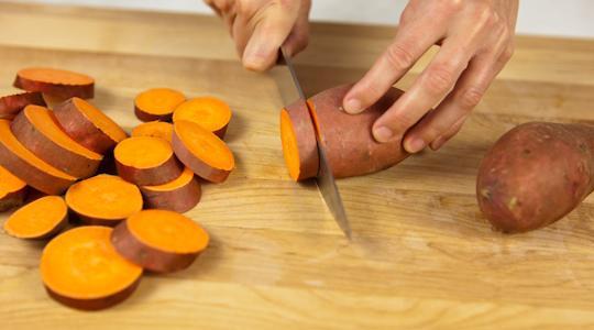 Roasted sweet potato coins-02