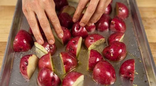 Roasted rosemary potatoes-09