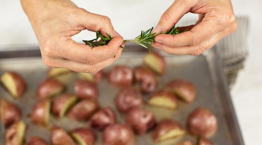 Roasted rosemary potatoes-10