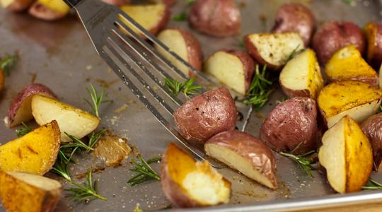 Roasted rosemary potatoes-12