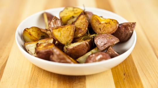Roasted rosemary potatoes-13