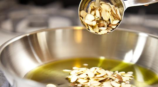 Green beans with almonds-06
