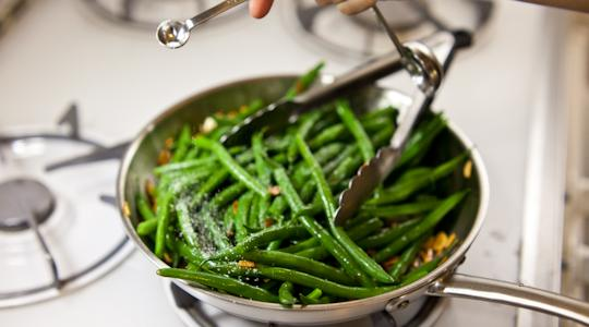 Green beans with almonds-09