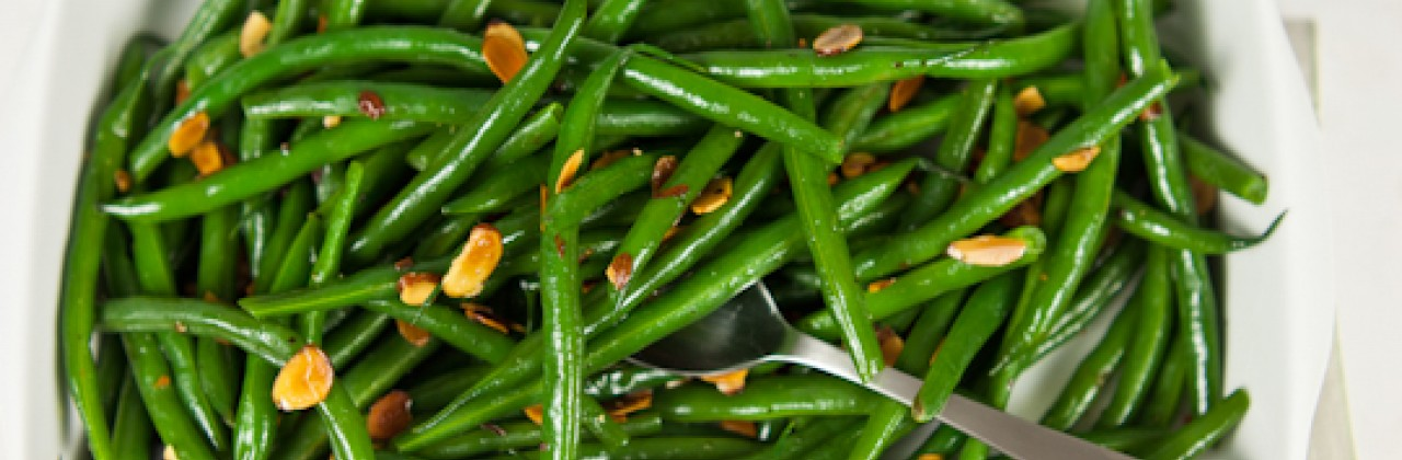 Green Beans with Almonds