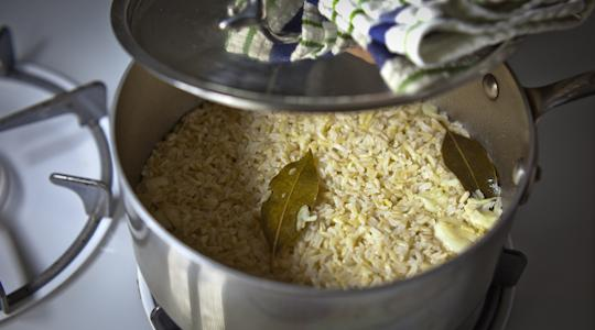 Brown rice pilaf-14