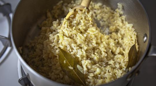 Brown rice pilaf-15