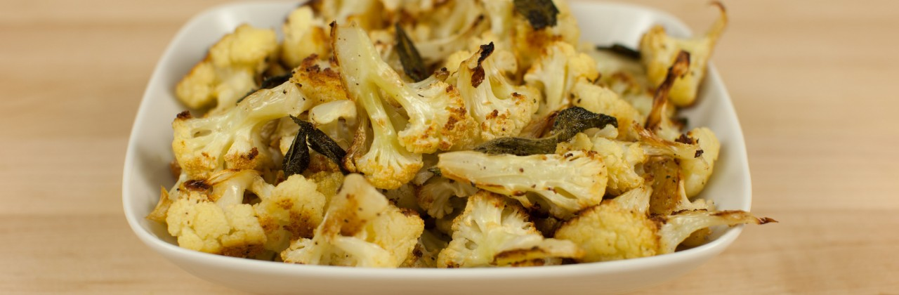 Roasted Cauliflower and Sage