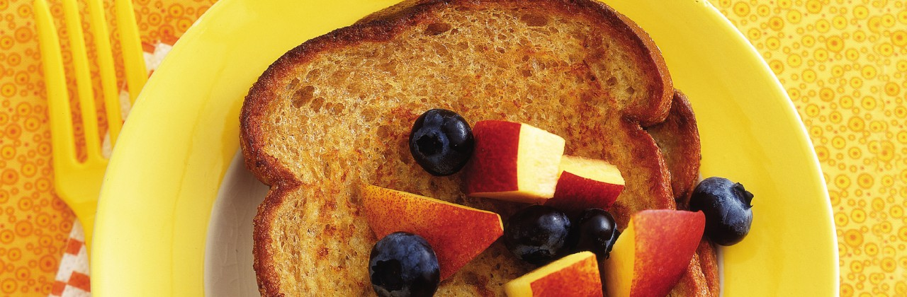 French Toast (with butternut squash or carrot puree)
