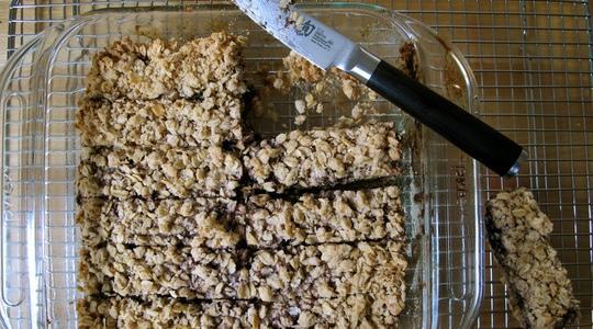 Blueberry oatmeal bars-05