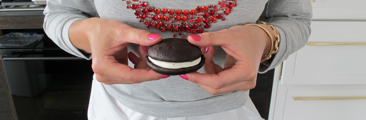 Whoopie Pies (with spinach puree)
