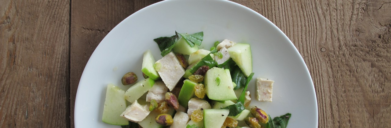 Chicken Salad with Apples and Basil
