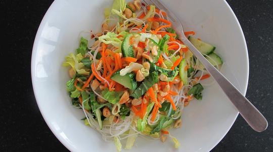Rice noodle salad-06