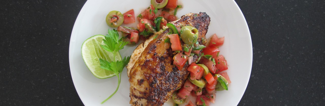 Summer Chicken Veracruz