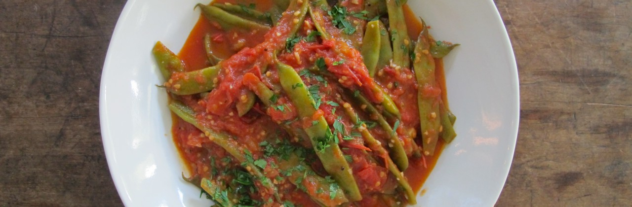 Stewy Green Beans and Tomatoes