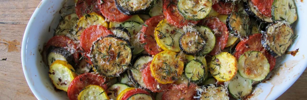 Zucchini and Eggplant Casserole