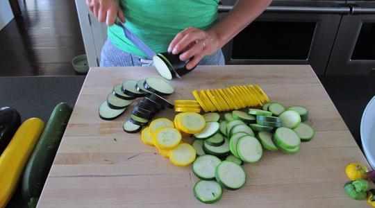 Zucchini and eggplant casserole-02