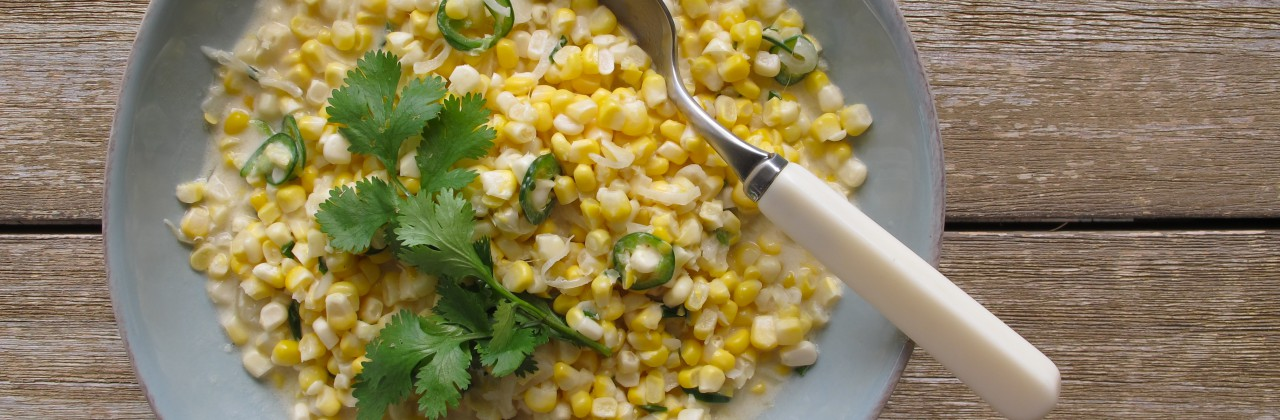 Spicy Coconut Corn