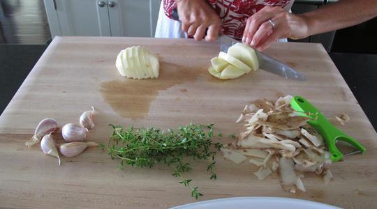 Roasted garlic chicken-01