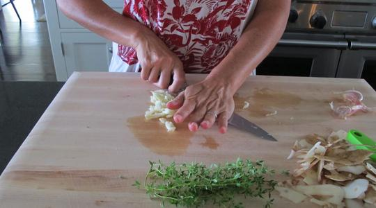 Roasted garlic chicken-02