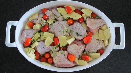 Roasted garlic chicken-05