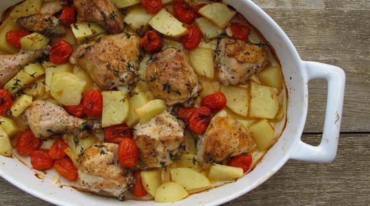 Roasted garlic chicken-06