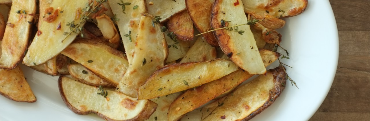 Steak Fries with Garlic and Thyme
