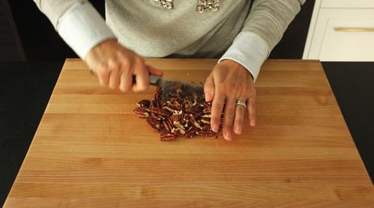 Wild rice with dried cranberries and pecans-11