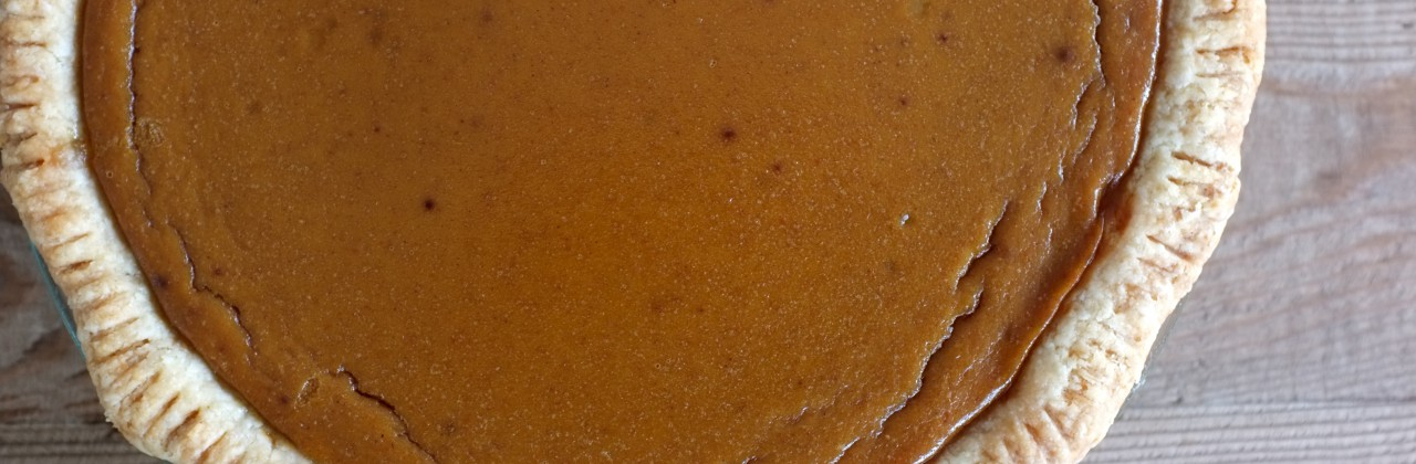 Classic Spiced Pumpkin Pie