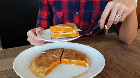 Sweet sweet potato french toast-13
