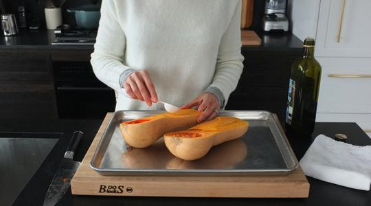 Roasted butternut squash soup-05