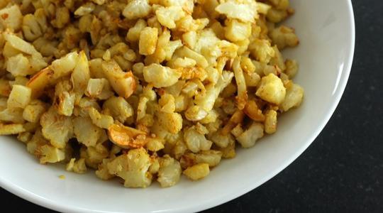 Yellow cauliflower rice-06