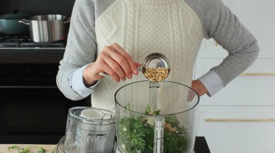Pesto parsley steamed halibut-04