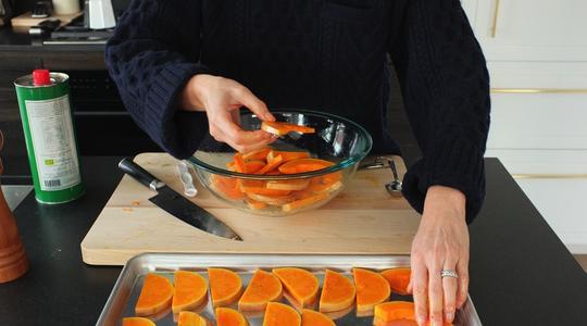 Lemon-parmesan breadcrumb-baked butternut squash-10
