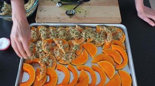 Lemon-parmesan breadcrumb-baked butternut squash-14