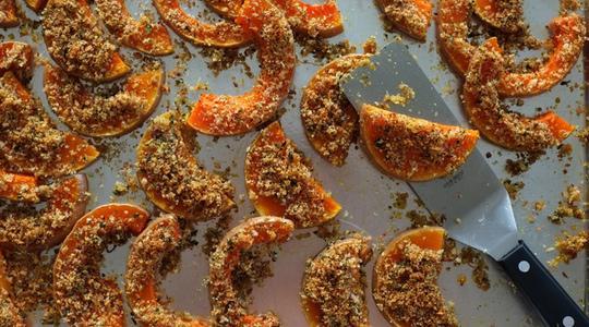 Lemon-parmesan breadcrumb-baked butternut squash-15