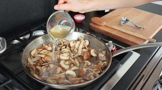 Mushroom pasta-11