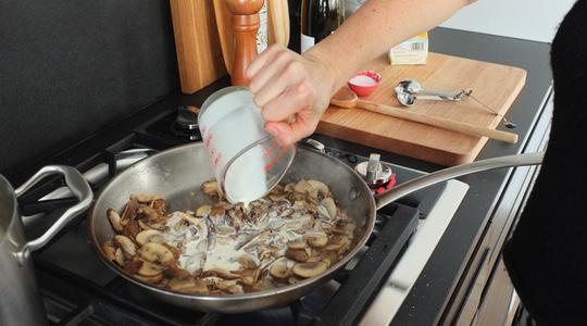 Mushroom pasta-14