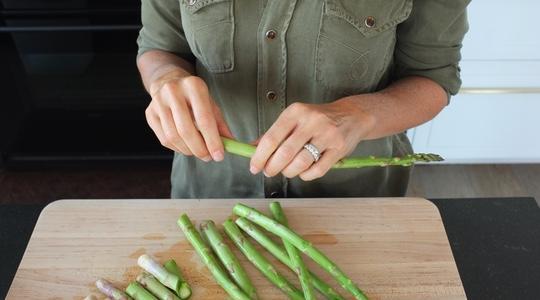 Roasted asparagus and shitake-01