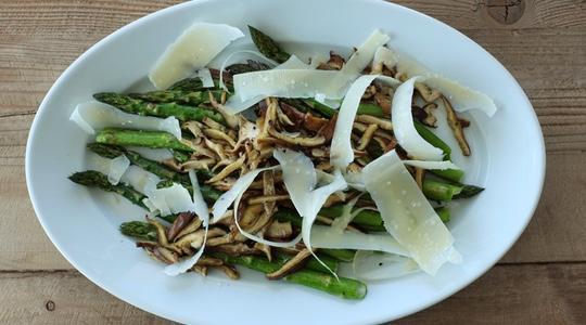Roasted asparagus and shitake-10