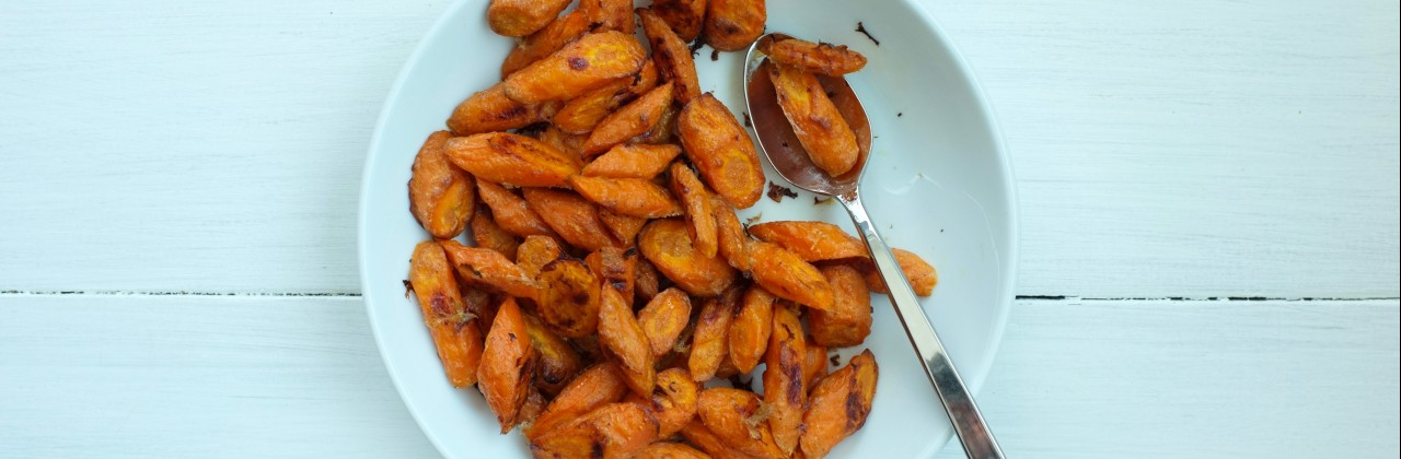 Yogurt & Cumin Roasted Carrots