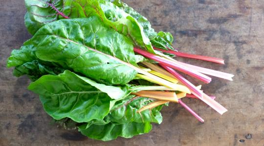 Balsamic Swiss Chard With Pine Nuts And Garlic Recipe From Jessica Seinfeld